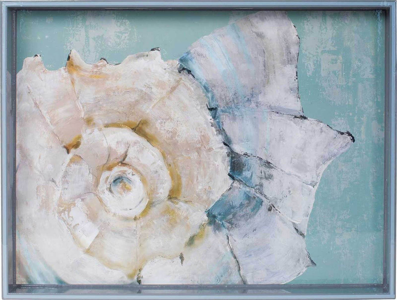 "Conch Shell 15"" x 20"" Art Tray TRAY-RECTANGULA rfp-home"