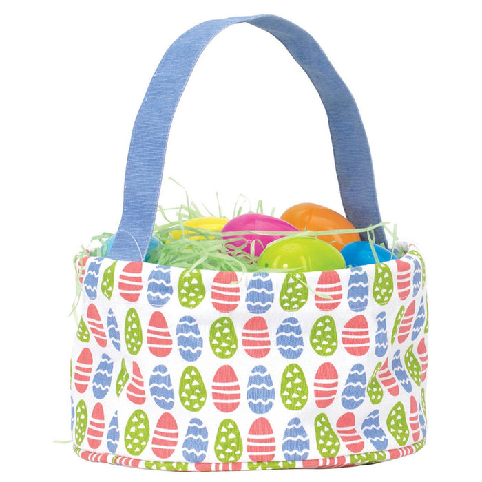 Easter Eggs blu Easter Basket EASTERBASKET rfp-blu