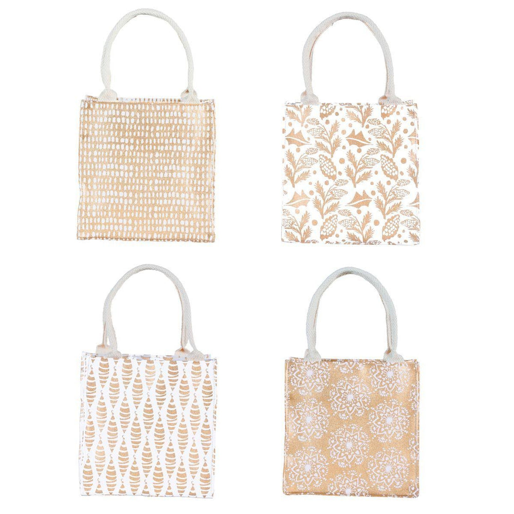 Gold Metallic Itsy Bitsy Gift Bag, Pack of 8 (Price is per Bag) ITSYBITSY rfp-totes