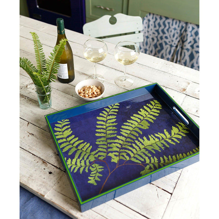 "Green Fern 15"" x 20"" Art Tray TRAY-RECTANGULA rfp-home"