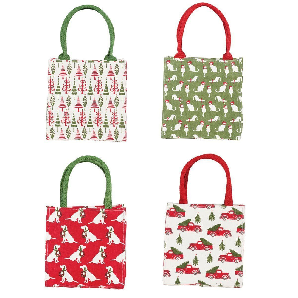 Holiday Heritage Itsy Bitsy Gift Bag, Pack of 8 (Price is per Bag) ITSYBITSY rfp-totes
