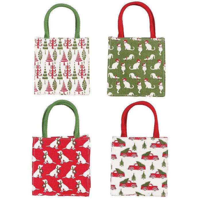 Holiday Heritage Medium Itsy Bitsy Gift Bags, Pack of 4 (Price is Per Bag) ITSYBITSYMED rfp-totes
