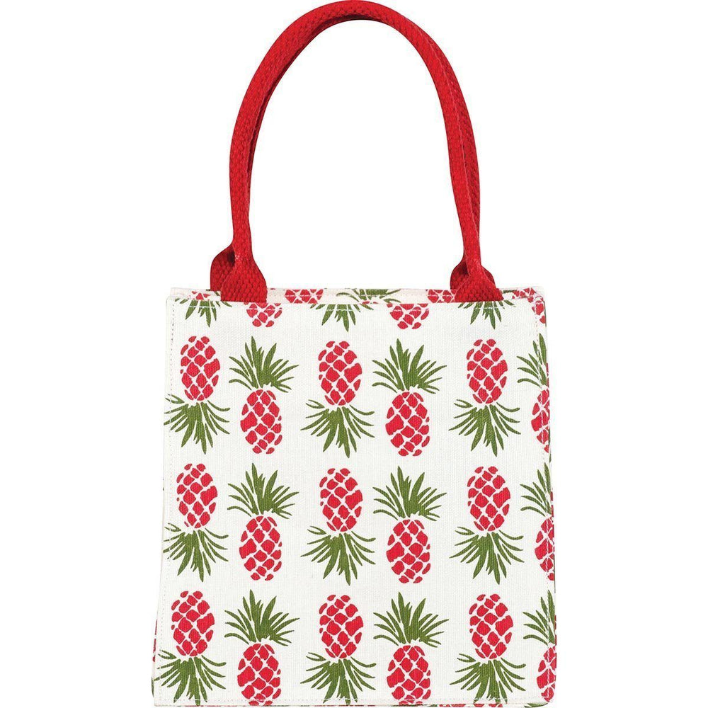Holiday Pineapple Itsy Bitsy Gift Bag, Pack of 4 (Price is per Bag) ITSYBITSY rfp-totes