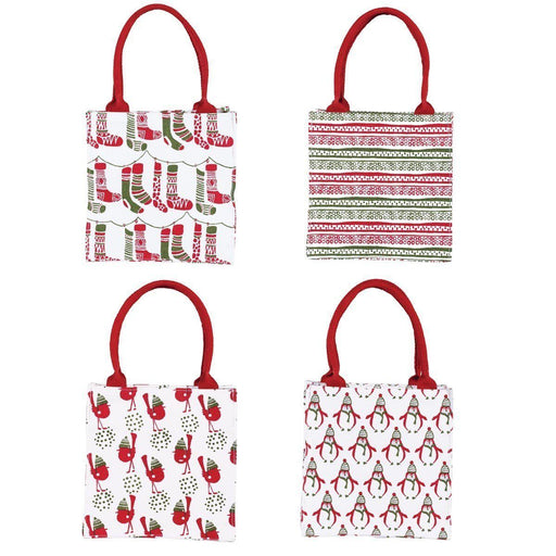 Holly Jolly Itsy Bitsy Gift Bag, Pack of 8 (Price is per Bag) ITSYBITSY rfp-totes