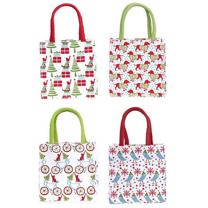 Jolly Jubilee Red Medium Itsy Bitsy Gift Bags, Pack Of 4 (Price is per Bag) ITSYBITSYMED rfp-totes