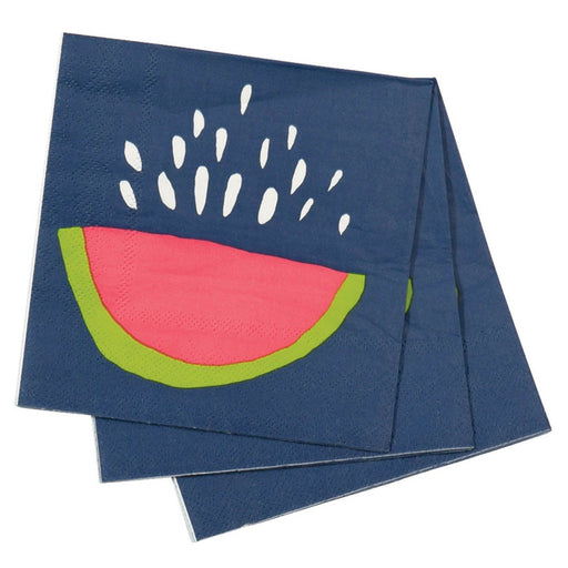 Juicy Watermelon Cocktail Napkins NAPKIN_PAPER rfp-home