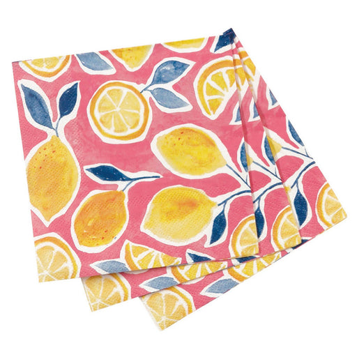 Lemons Cocktail Napkins NAPKIN_PAPER rfp-home