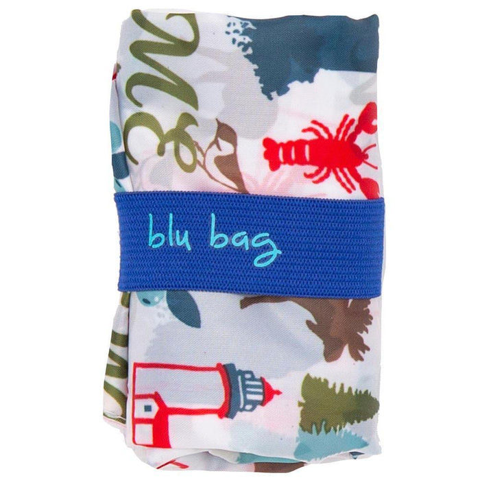 Maine Blue Blu Bag Reusable Shopping Bags BLUBAGS rfp-blu
