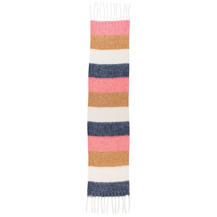 Navy, Pink And Tan Super Soft Cuddle Scarf SCARVES-CUDDLE rfp-scarves