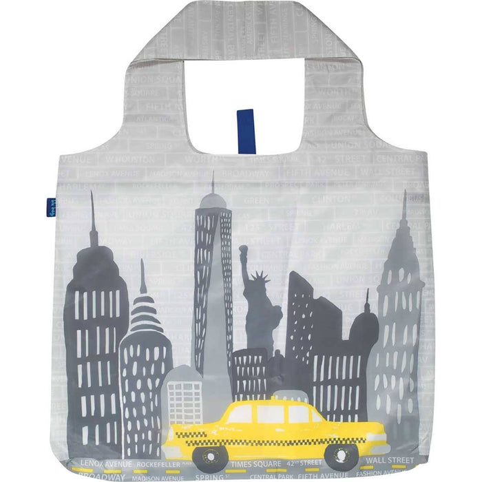 NYC Blu Bag Reusable Shopping Tote BLUBAGS rfp-blu