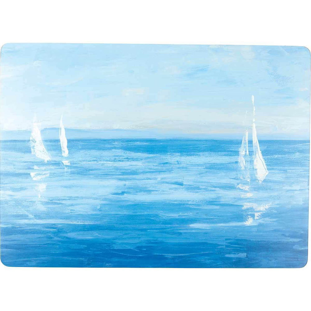 Open Sail Art Placemat - Set of Four HARDPLACEMAT rfp-home