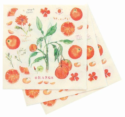 Oranges Cocktail Napkin NAPKIN_PAPER rfp-home