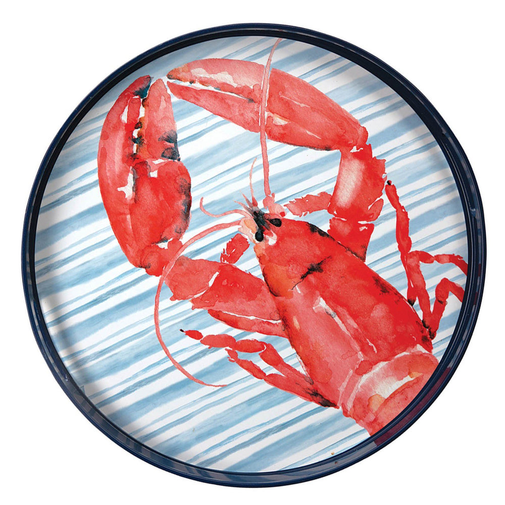 "Red Lobster 15"" Coco Tray TRAY-ROUND rfp-home"