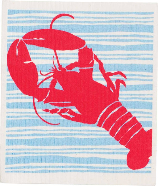 Red Lobster Eco Friendly blu Cloths - Set of 2 BLUCLOTH rfp-blu