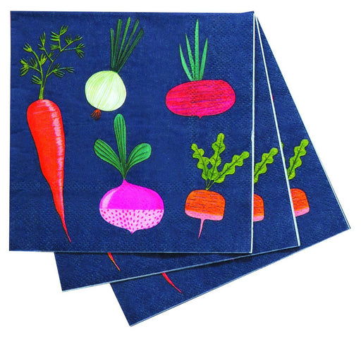 Root Veggies Cocktail Napkin NAPKIN_PAPER rfp-home