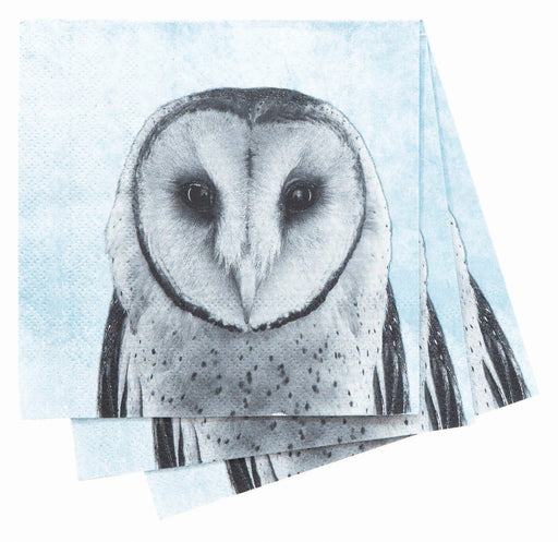 Snowy Owl Cocktail Napkin NAPKIN_PAPER rfp-home