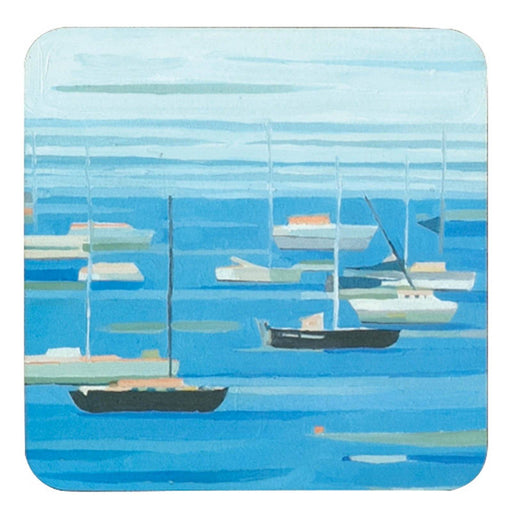 Summer Regatta Square Art Coasters - Set of 4 HARDCOASTERS rfp-home