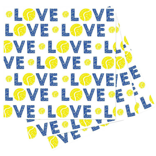 Tennis Love Cocktail Napkin NAPKIN_PAPER rfp-home