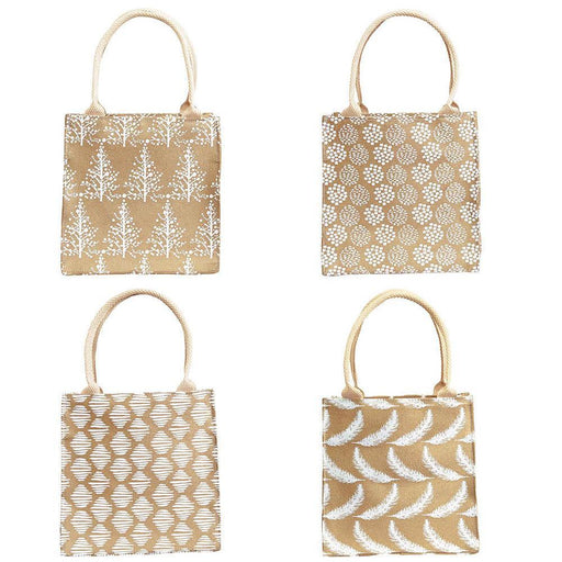 Wintery Gold Metallic Itsy Bitsy Gift Bags, Pack Of 8 (Price is per Bag) ITSYBITSY rfp-totes