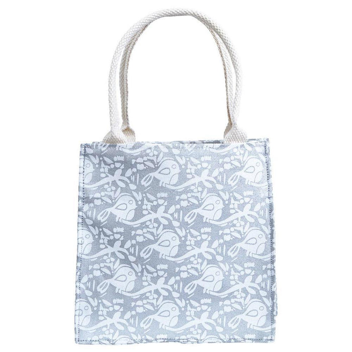 Wintery Silver Metallic Itsy Bitsy Gift Bags, Pack Of 8 (Price is per Bag) ITSYBITSY rfp-totes