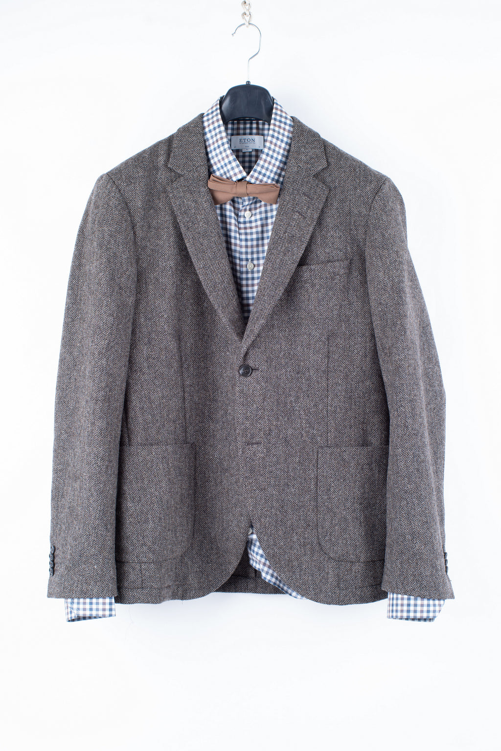 Tiger Of Sweden Tweed Wool Sport Coat, US 44R, EU 54