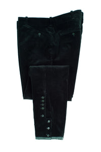 Ralph Lauren Dark Green Corduroy Jodhpur With Suede Patches, SIZE 14