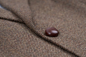DAKS 100% Wool Men's Khaki Brown Blazer, US 44R, EU 54R