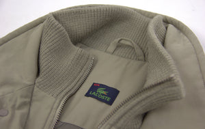 LACOSTE Men's Olive Green Parka, SIZE L - secondfirst