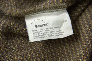 Bogner Vintage Linen Blend Knit Jumper, L - secondfirst