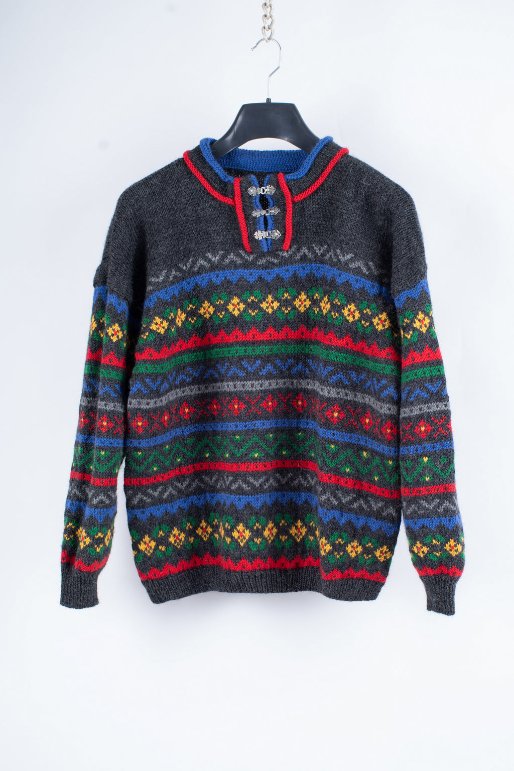 Unisex Nordic Wool Sweater Size L