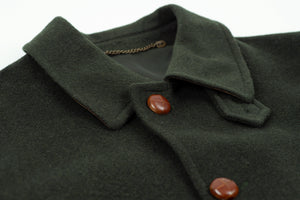 Men's Tiroler Loden Donegal Wool Alpaca Blend Coat, USA 38, EU 48