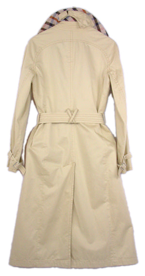 Daks Lightweight Beige Trench Coat Size S, US 6 - secondfirst