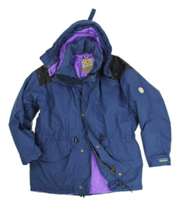 Fjallraven Gore-Tex Thinsulate Dark Blue Parka Jacket, M - second_first