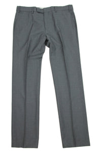 PAUL SMITH GRAY WOOL Straight Leg Slim Fit Pants, Size 34