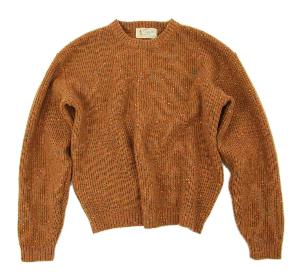 Prankish Flandre Japanese Brown Wool Sweater, Women's M