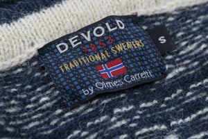 Devold by Olmes Carretti Men's Nordic Wool Sweater Size S