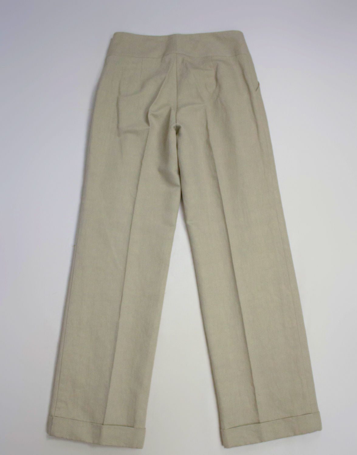 NYGARDSANNA Wide Pleated Gray Pants/Trousers, EU 38, US 10, UK 12 - secondfirst