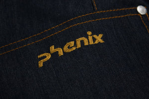PHENIX Waterproof Insulated Denim Jeans Style Ski Snowboard Pants US 12, EU 42 - secondfirst