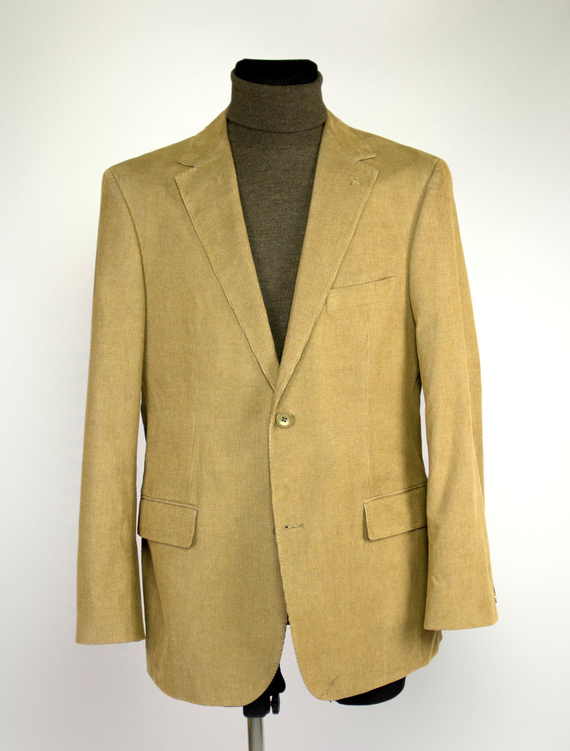 HUGO BOSS Brown CORDUROY Blazer Sport Coat, US 40/EUR 50 - secondfirst