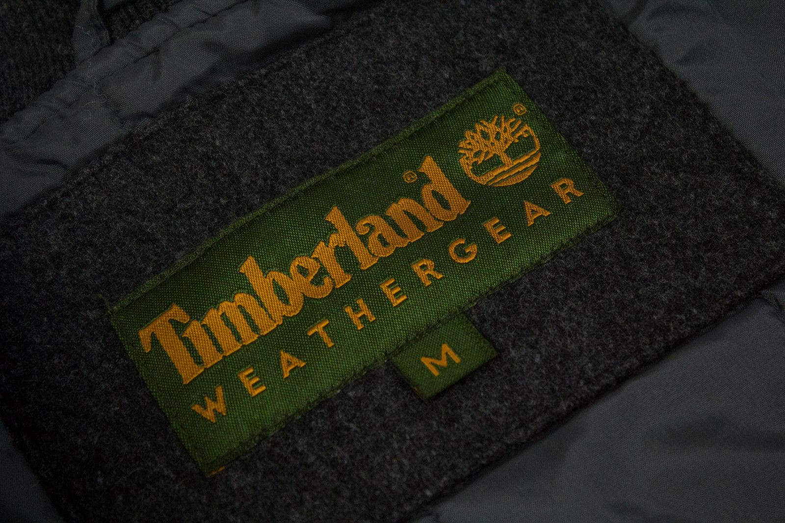 TIMBERLAND Weathergear Wool/Leather Varsity Jacket SIZE L - secondfirst