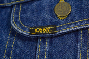 LEE Vintage Women's Blue Denim Rider Jacket, SIZE 38 Long, M - secondfirst