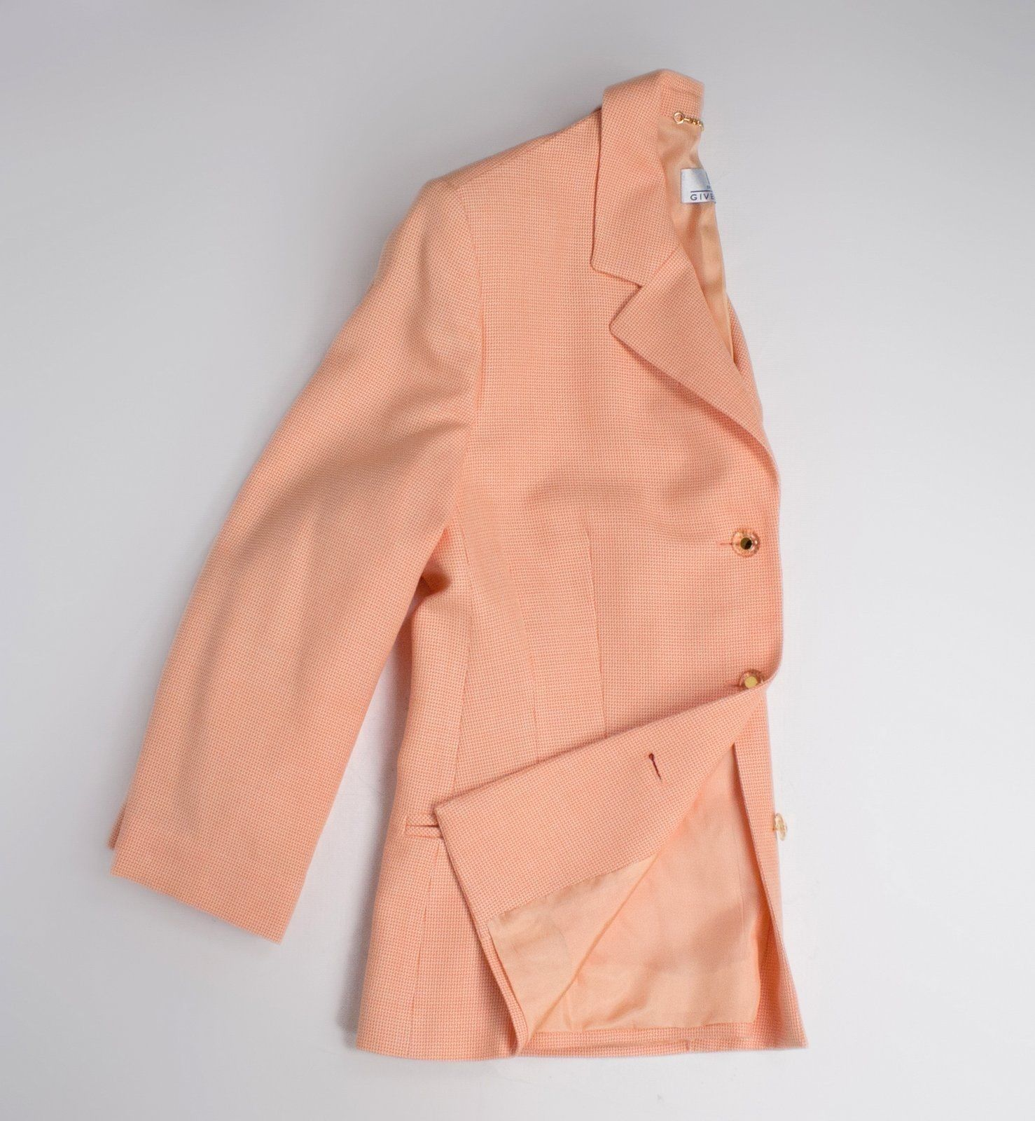 GIVENCHY Coral Summer Blazer, Women's Plus Size L - secondfirst