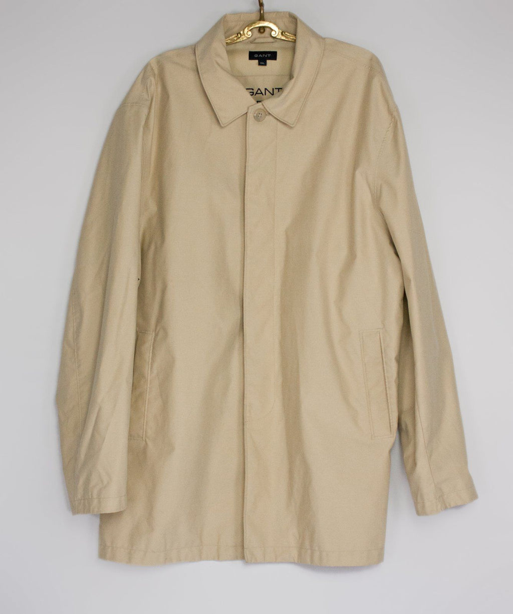 GANT Beige Journey Jacket, Water Repellent, XXL - secondfirst