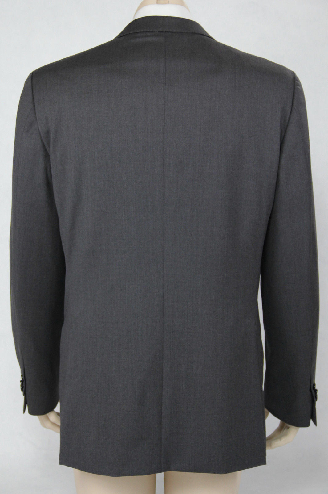 ERMENEGILDO ZEGNA Gray Wool Blazer Jacket, US 42R/EU52 - secondfirst