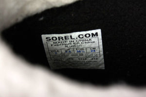 Sorel Waterproof Black Rubber Boots, USA 7, EU 38 2/3,  UK 5.5 - secondfirst
