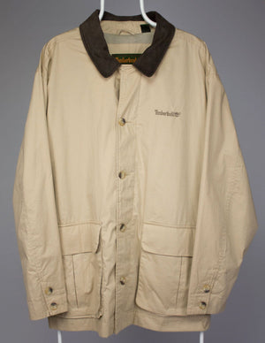 TIMBERLAND Weathergear Water Repellent Cotton Jacket, XL - secondfirst