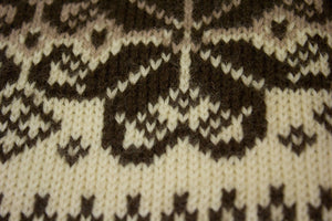 DALE OF NORWAY Chunky Wool Nordic Cardigan Size M - secondfirst