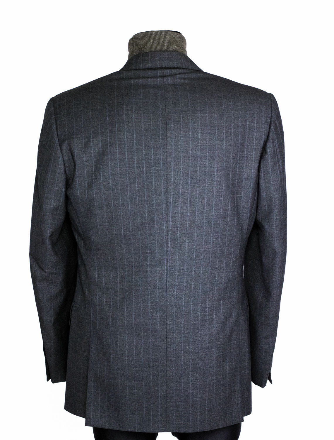 CORNELIANI Super 100's Extrafine Merino Wool 3 Buttons Blazer US 46R, EU 56R - secondfirst