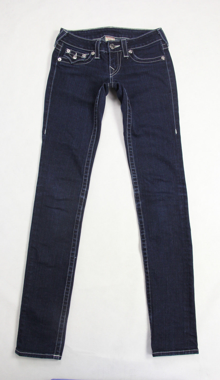 TRUE RELIGION SKINNY STRETCH JEANS, 25 - secondfirst