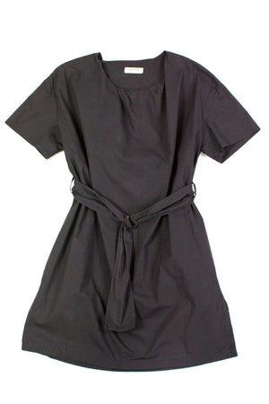 Acne Jeans Charcoal Gray Belted Dress Size 34 (XS) - secondfirst